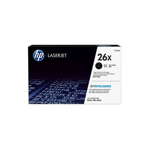 HP 26X Black High Yield Toner Cartridge (CF226X)