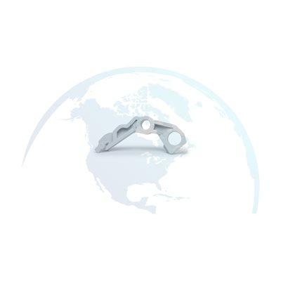 HP CLJ 2700/3000/3600/3800/CP3505 Left Lever Lock