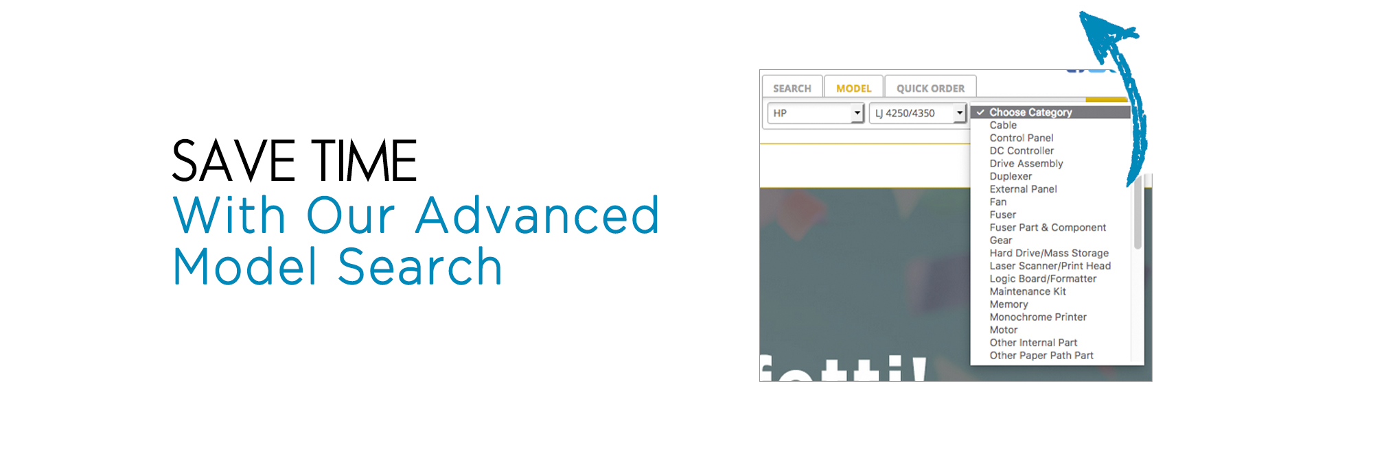 Save time with our advanced part lookup!