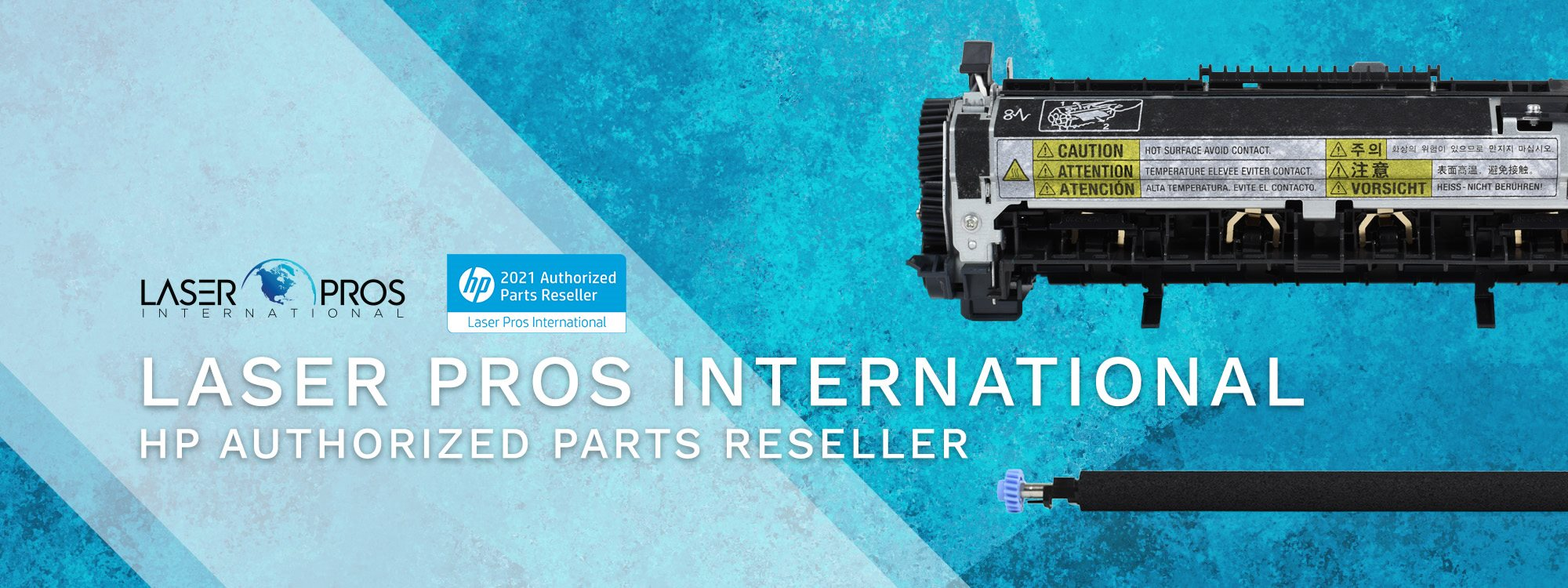 Laser Pros International HP Authorized Parts Reseller